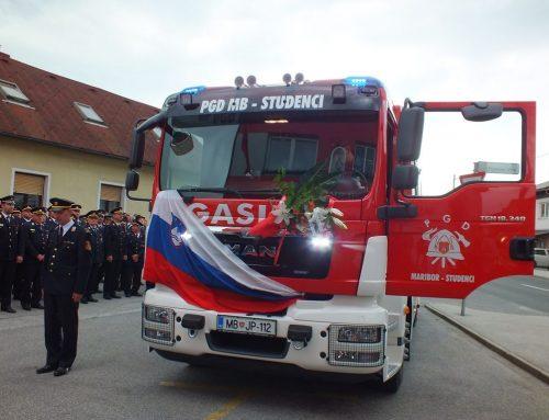 Predali smo v uporabo novo sodobno gasilsko vozilo