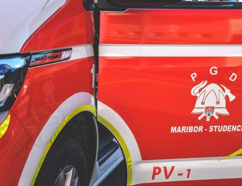 Novo gasilsko poveljniško vozilo VW Multivan